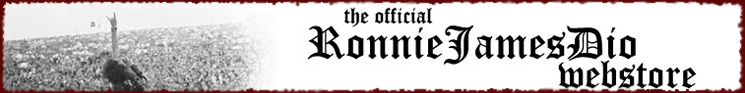 Official Ronnie James Dio Webstore