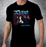Dio Angry Machines Band Photo Front/Dio Logo Back T-shirt