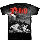 Dio Holy Diver Allover Artwork T-shirt