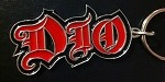 Dio Logo Metal Keychain from 2004