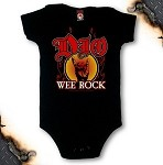 "Dio - ""Wee Rock"" one-piece baby jumper"