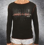 Heaven & Hell Girly Long Sleeve W/ Red Trim