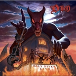 Dio Holy Diver Live 3LP 180g Black Vinyl Triple-Gatefold with Lenticular 3D Album Sized Art Card: Limited Edition Deluxe Reissue