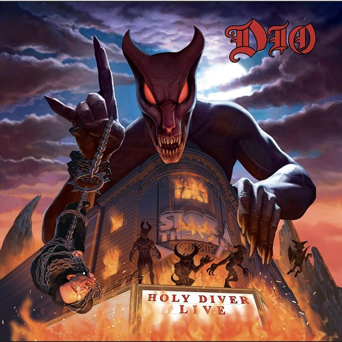 Dio Holy Diver Live 2CD Deluxe Mediabook