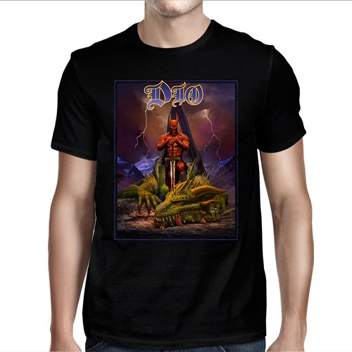 Dio Murray Dragon Slayer T-shirt Quote-Back