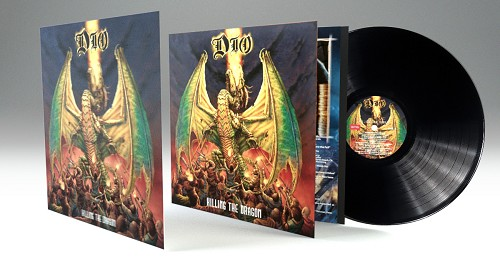 Dio Killing The Dragon Vinyl Includes Limited Edition LP-Sized Lenticular Art Card