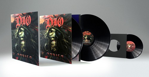 "Dio Magica 2LP set with bonus 7"" and Limited Edition LP-Sized Lenticular Art Card"