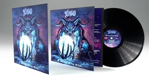 Dio Master Of The Moon Vinyl Includes Limited Edition LP-Sized Lenticular Art Card